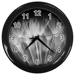 Dandelion Wall Clocks (black) by trendistuff