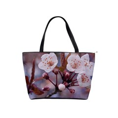 Cherry Blossoms Shoulder Handbags by trendistuff