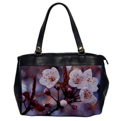 Cherry Blossoms Office Handbags by trendistuff