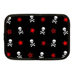 Stars, Skulls & Crossbones Netbook Case (Medium)  Front