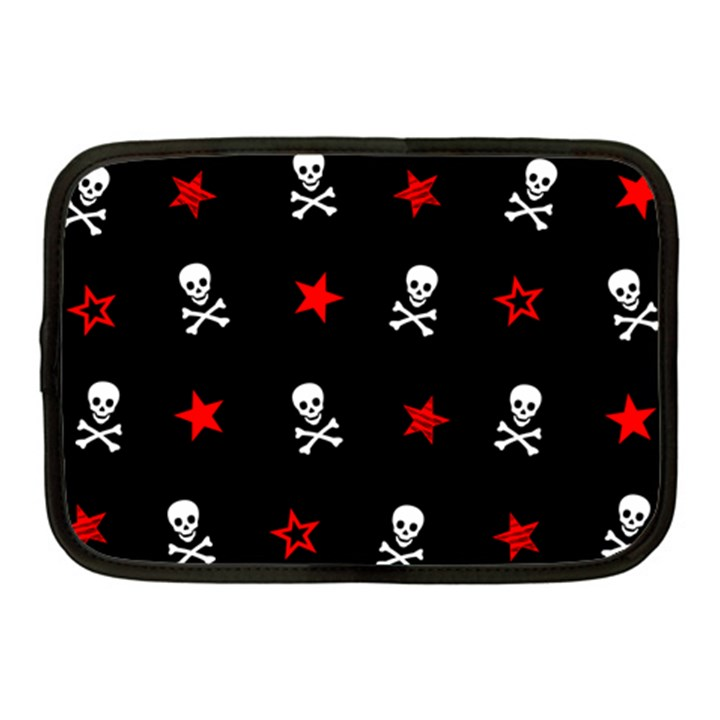 Stars, Skulls & Crossbones Netbook Case (Medium)