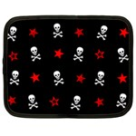 Stars, Skulls & Crossbones Netbook Case (Large)
