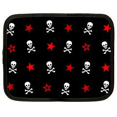 Stars, Skulls & Crossbones Netbook Case (xl)