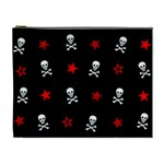Stars, Skulls & Crossbones Cosmetic Bag (XL)