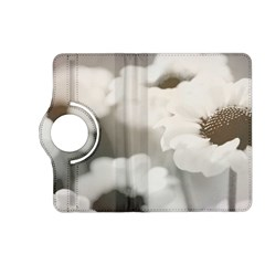 BLACK AND WHITE FLOWER Kindle Fire HD (2013) Flip 360 Case