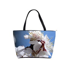 Apricot Blossoms Shoulder Handbags by trendistuff
