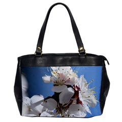 Apricot Blossoms Office Handbags by trendistuff