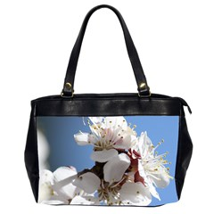Apricot Blossoms Office Handbags (2 Sides)  by trendistuff