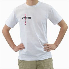 Outtime / Outplay Men s T Shirt (white)