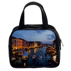 Venice Canal Classic Handbags (2 Sides) by trendistuff