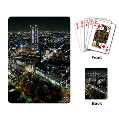 Tokyo Night Playing Card by trendistuff