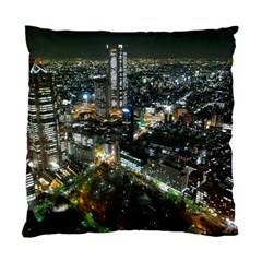 Tokyo Night Standard Cushion Case (one Side)  by trendistuff