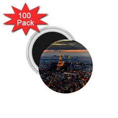 Paris From Above 1 75  Magnets (100 Pack)  by trendistuff