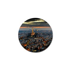 Paris From Above Golf Ball Marker (4 Pack) by trendistuff