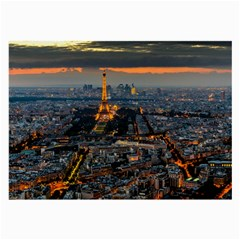 Paris From Above Large Glasses Cloth (2 Side) by trendistuff