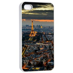 Paris From Above Apple Iphone 4/4s Seamless Case (white) by trendistuff
