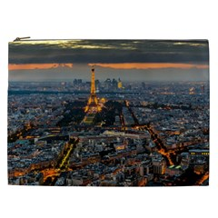 Paris From Above Cosmetic Bag (xxl)  by trendistuff
