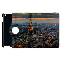 Paris From Above Apple Ipad 3/4 Flip 360 Case by trendistuff