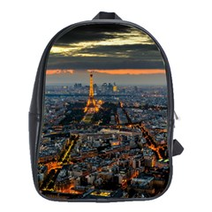 Paris From Above School Bags (xl)  by trendistuff