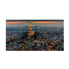Paris From Above Satin Wrap by trendistuff