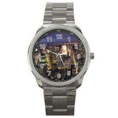 New York 1 Sport Metal Watches by trendistuff