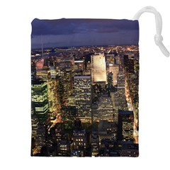 New York 1 Drawstring Pouches (xxl)