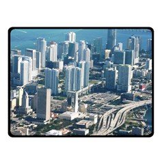 Miami Fleece Blanket (small) by trendistuff