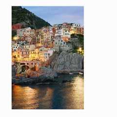 Manarola Italy Large Garden Flag (two Sides) by trendistuff