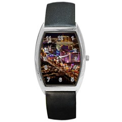 Las Vegas 2 Barrel Metal Watches by trendistuff