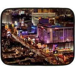 Las Vegas 2 Double Sided Fleece Blanket (mini)  by trendistuff