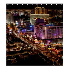 Las Vegas 2 Shower Curtain 66  X 72  (large)  by trendistuff