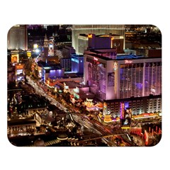 Las Vegas 2 Double Sided Flano Blanket (large)  by trendistuff