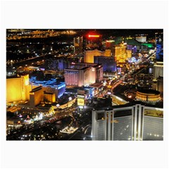 Las Vegas 1 Large Glasses Cloth (2 Side) by trendistuff