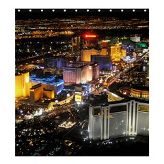 Las Vegas 1 Shower Curtain 66  X 72  (large)  by trendistuff