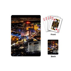 Las Vegas 1 Playing Cards (mini)  by trendistuff