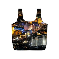 Las Vegas 1 Full Print Recycle Bags (s)  by trendistuff