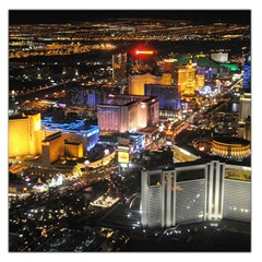 Las Vegas 1 Large Satin Scarf (square) by trendistuff
