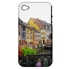 Colmar France Apple Iphone 4/4s Hardshell Case (pc+silicone)