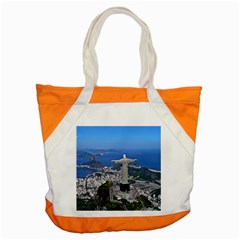 Christ On Corcovado Accent Tote Bag  by trendistuff