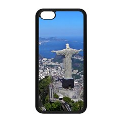 Christ On Corcovado Apple Iphone 5c Seamless Case (black) by trendistuff