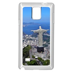 Christ On Corcovado Samsung Galaxy Note 4 Case (white) by trendistuff