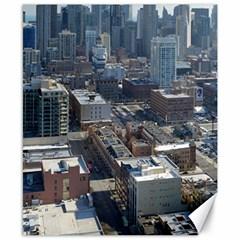 Chicago Canvas 8  X 10  by trendistuff