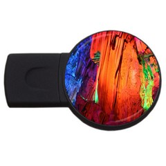 Reed Flute Caves 4 Usb Flash Drive Round (2 Gb)  by trendistuff