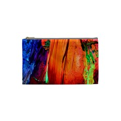 Reed Flute Caves 4 Cosmetic Bag (small)  by trendistuff