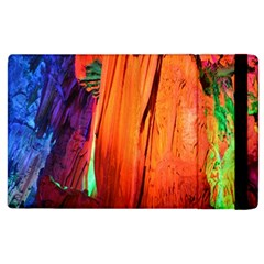 Reed Flute Caves 4 Apple Ipad 3/4 Flip Case by trendistuff