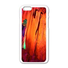 Reed Flute Caves 4 Apple Iphone 6/6s White Enamel Case by trendistuff