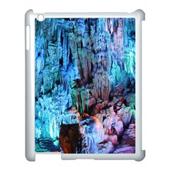 Reed Flute Caves 3 Apple Ipad 3/4 Case (white) by trendistuff