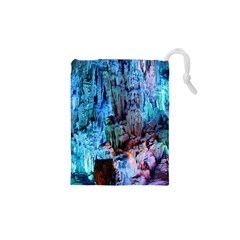 Reed Flute Caves 3 Drawstring Pouches (xs)  by trendistuff