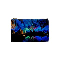 Reed Flute Caves 2 Cosmetic Bag (small)  by trendistuff