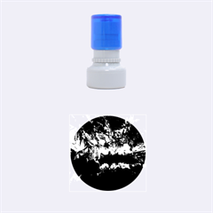 Reed Flute Caves 2 Rubber Round Stamps (small) by trendistuff